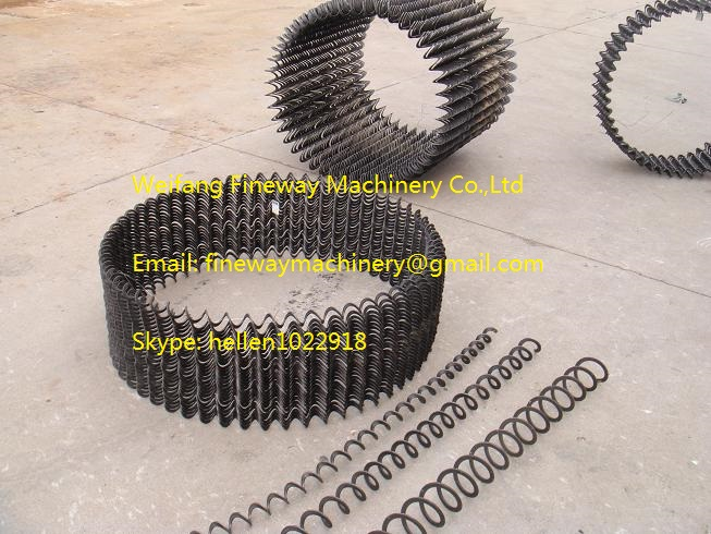 mini size shaftless spiral manufacturer - continuous flights